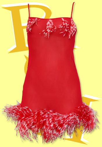 بالصور ملابس نوم مثيرة للمتزوجات , اجدد مجموعة قمصان حمراء نوم للنساء 672 5