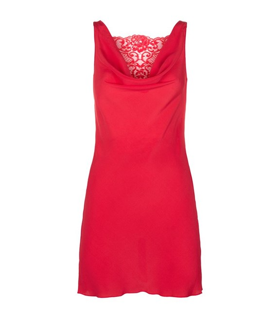 بالصور ملابس نوم مثيرة للمتزوجات , اجدد مجموعة قمصان حمراء نوم للنساء 672 7
