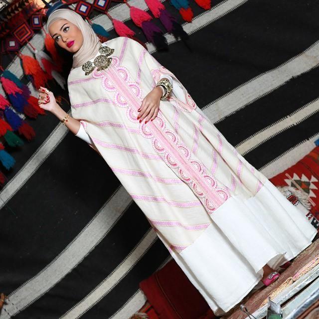 صورة ازياء محجبات تركية , ارقي موديلات ملابس محجبة