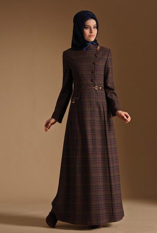 صورة ملابس محجبات شيك , موديلات جديدة للمحجبات