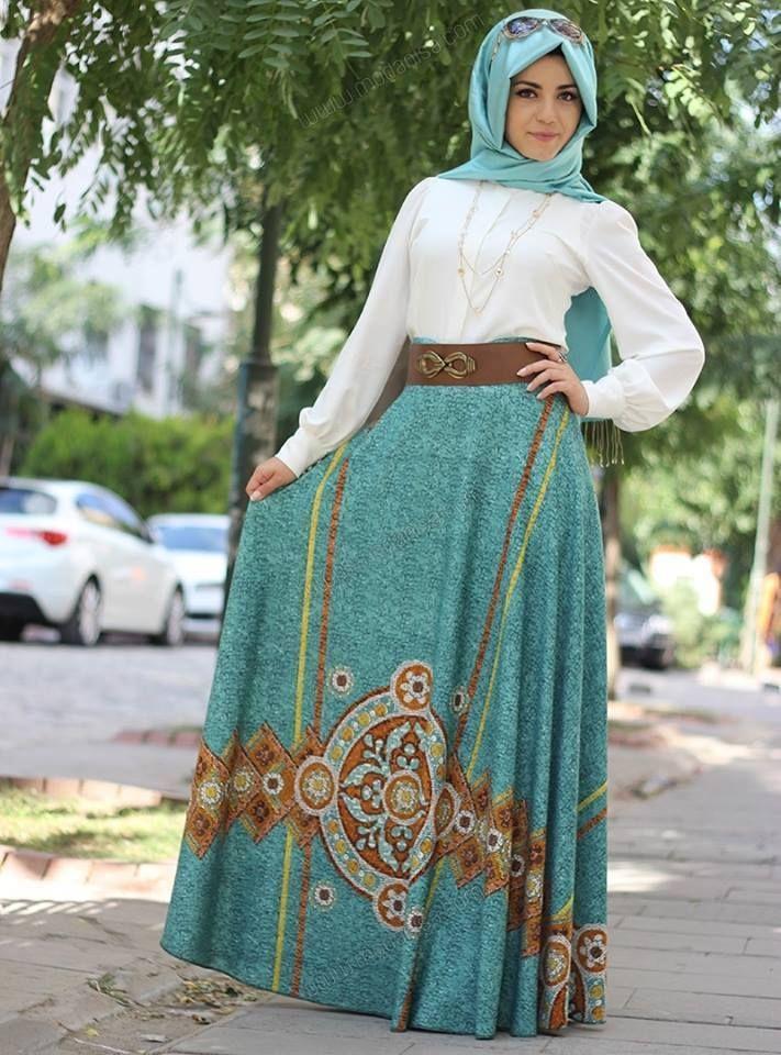 1028ffdbe صور ملابس محجبات ستايل تركي , ارقى استايلات اللبس التركي للفتاة المحجبة