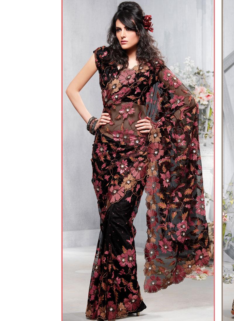 بالصور اجمل ملابس هندية , صور لاجمل ساري هندي 699 1
