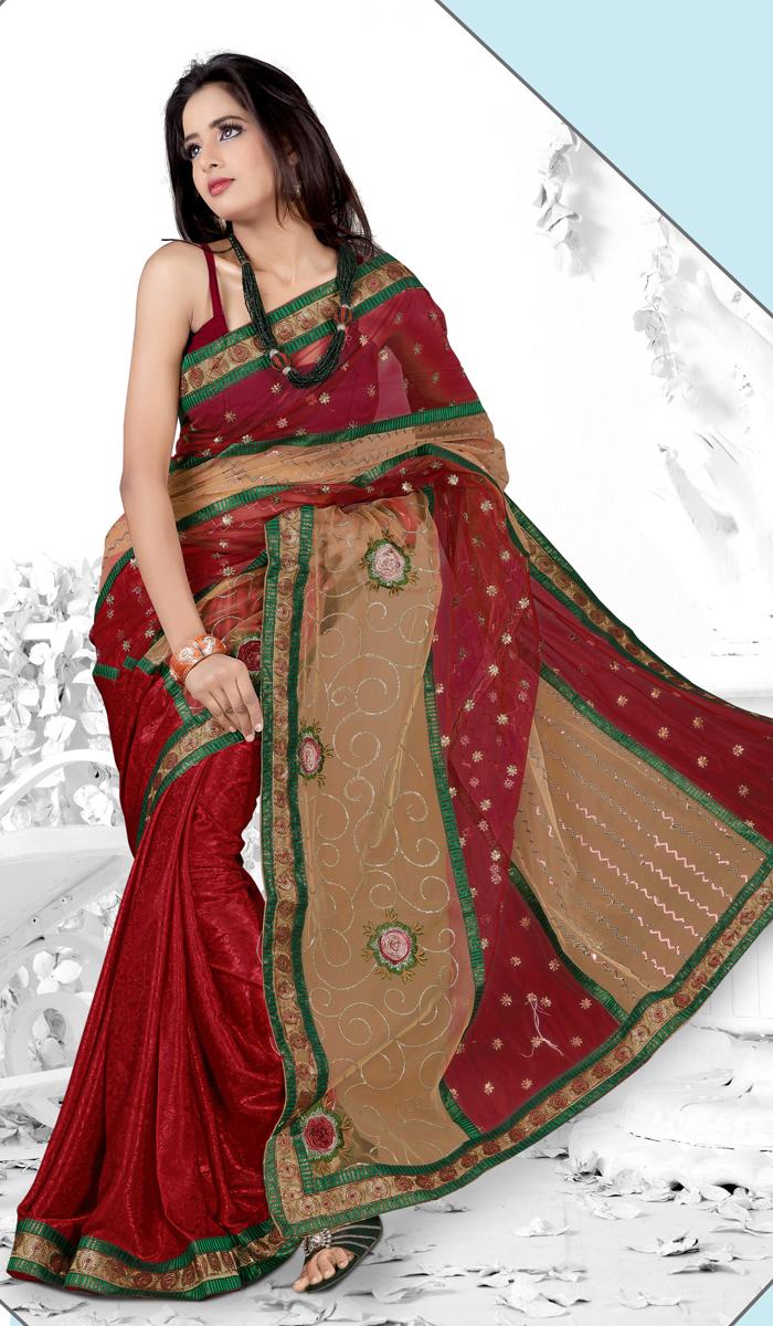بالصور اجمل ملابس هندية , صور لاجمل ساري هندي 699 2