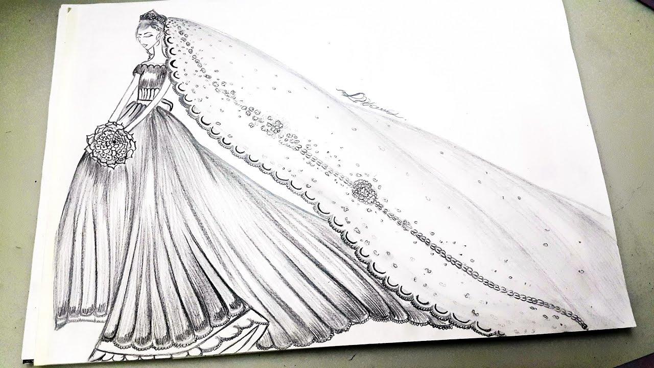 بالصور رسومات ازياء بالرصاص , تصاميم ملابس البنات 700 6