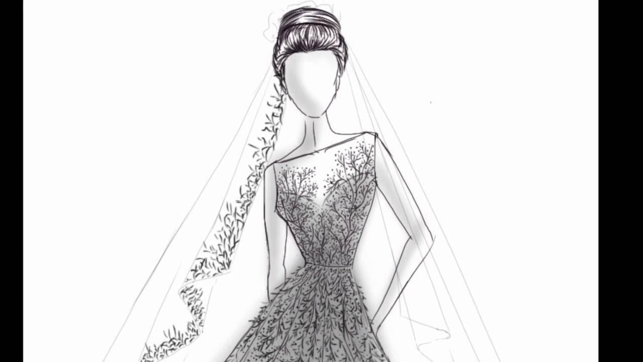 بالصور رسومات ازياء بالرصاص , تصاميم ملابس البنات 700 8