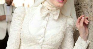 ازياء عرايس , فساتين فتيات محجبات في حفل الزفاف