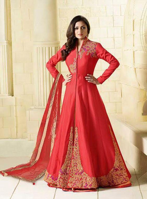 صورة ملابس هندية للاعراس , اجمل فساتين هندية للبنات
