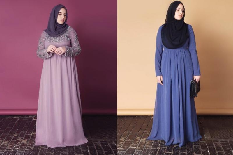 صورة ملابس حوامل للمحجبات , ازياء فضفضة جميلة