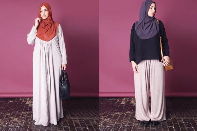 بالصور ملابس حوامل للمحجبات , ازياء فضفضة جميلة 718 4