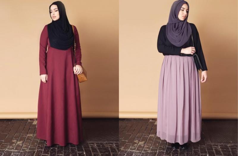 بالصور ملابس حوامل للمحجبات , ازياء فضفضة جميلة 718 5