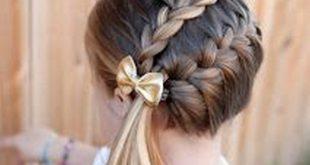 تسريحات شعر للاطفال , اجمل تسريحات للبنات