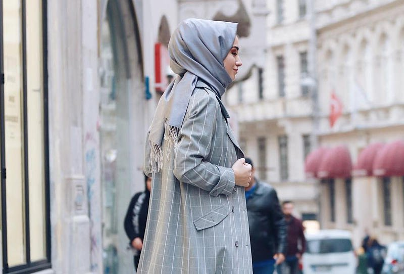 صورة ملابس محجبات شتوية , معاطف نسائية روعة
