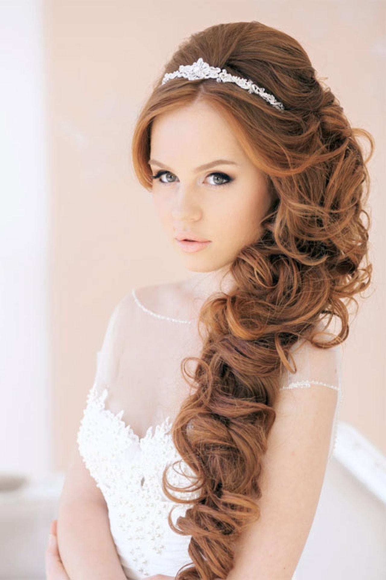 بالصور صور تسريحات شعر عروس , احلى تسريحات للعرايس 7268 4