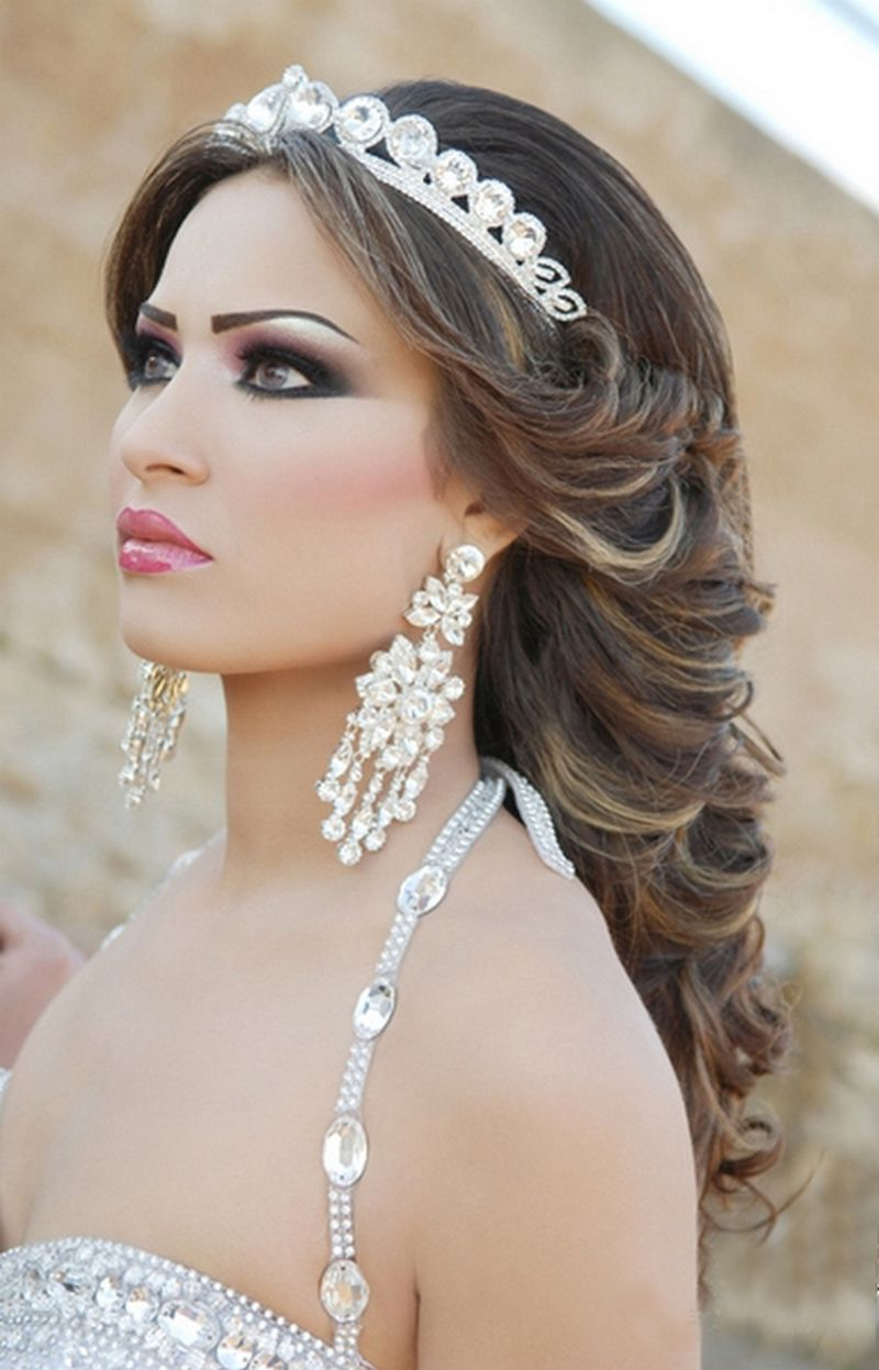 بالصور صور تسريحات شعر عروس , احلى تسريحات للعرايس 7268 5