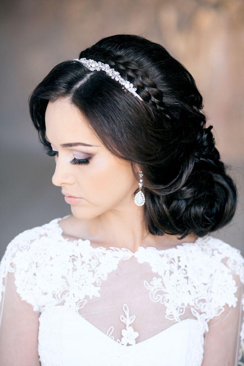 بالصور صور تسريحات شعر عروس , احلى تسريحات للعرايس 7268 7
