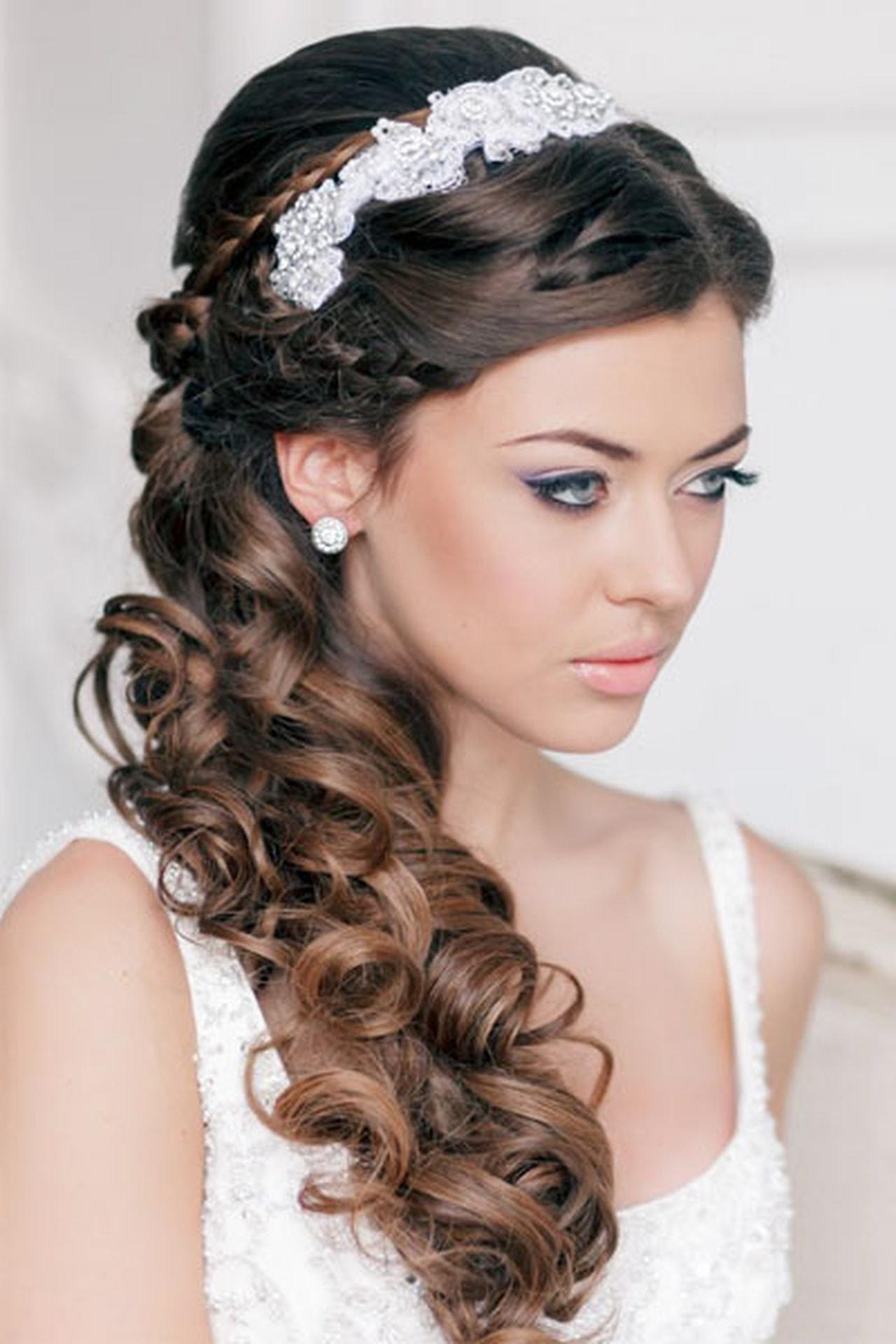 بالصور صور تسريحات شعر عروس , احلى تسريحات للعرايس 7268 9
