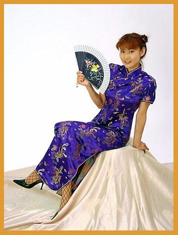 صورة ملابس صينيه , الزي التقليدي للصين الهانفو
