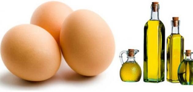 صورة خلطة البيض للشعر , خلطات مفيده للشعر