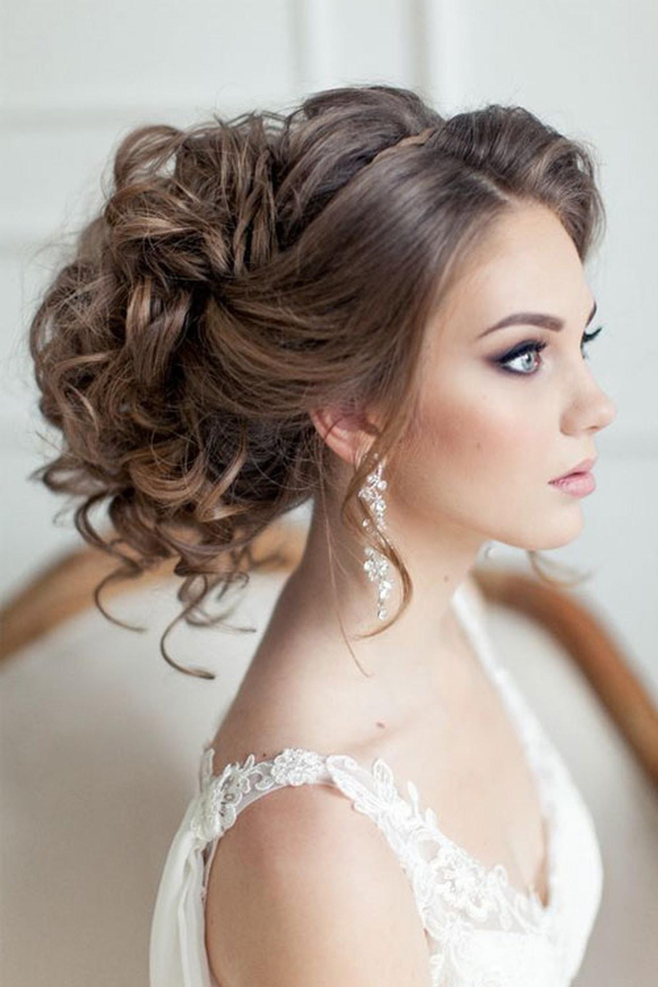 بالصور موديلات شعر عروس , احلى تسريحه للعرايس 7346 5