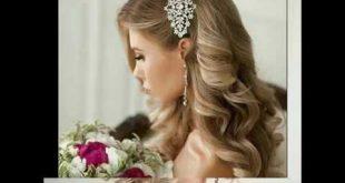 اجمل تسريحة شعر للعروس , اروع تسريحه للشعر