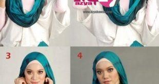 بالصور طرق لف الحجاب , اجمل صورة لطريقه لف الطرح 7412 8 310x165