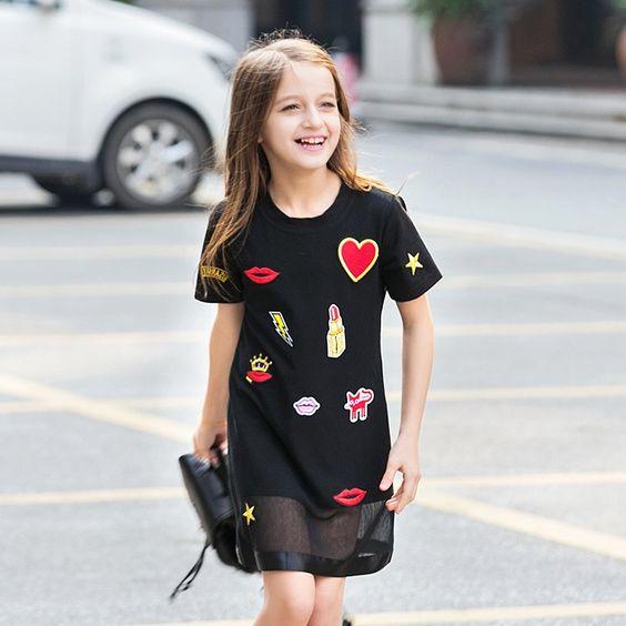 صورة ملابس بنات 10 سنوات , ازياء صيفية للفتيات الصغار