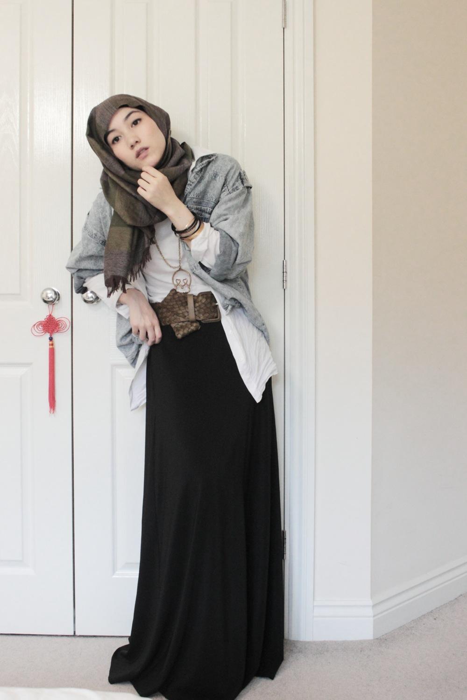 بالصور ملابس للجامعة للبنات المحجبات , ملابس كاجوال شيك 757 3