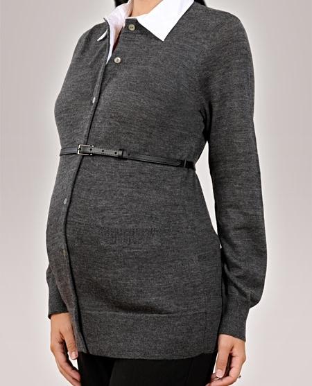 بالصور ملابس شتوية للحوامل , ازياء واسعة ومناسبة للحامل 758 6