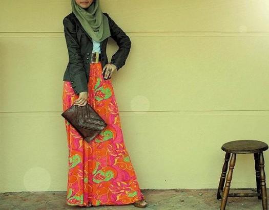 صورة ملابس عصرية للمحجبات , ازياء محتشمة لبنات جامعة