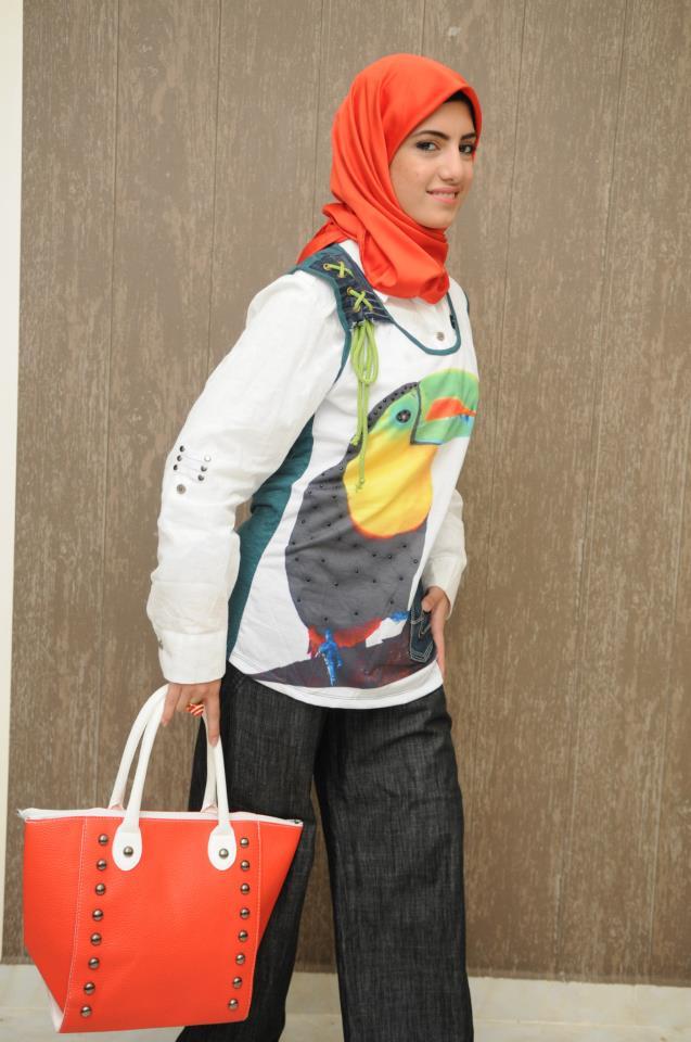بالصور ملابس بنات محجبات كاجوال , كولكشين شيك مناسب للجامعة 794 7