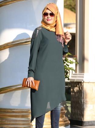 بالصور ملابس بنات محجبات كاجوال , كولكشين شيك مناسب للجامعة 794 8