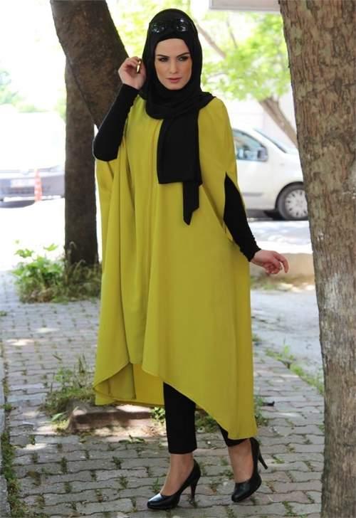 بالصور ملابس شتوية للمحجبات , اناقة اختيار الازياء 796 5