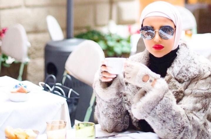 بالصور ازياء حجاب , اجمل معاطف بالفرو 802 3