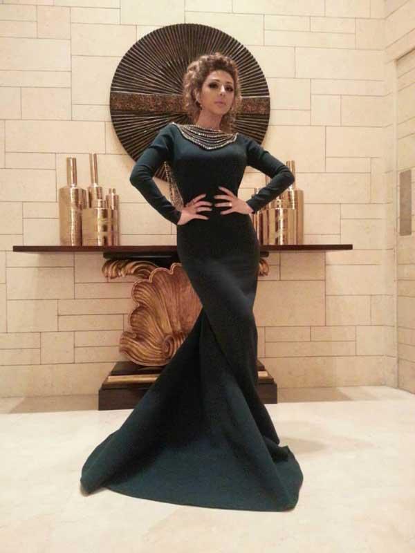 صورة ازياء ميريام فارس , فساتين المغنية ميريام