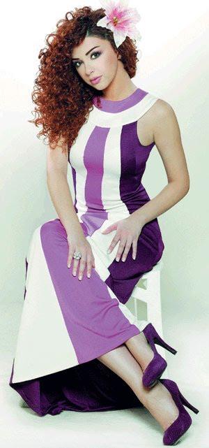 بالصور ازياء ميريام فارس , فساتين المغنية ميريام 811 6