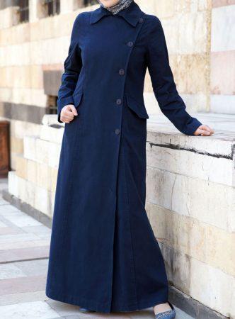 صورة ملابس جينز للمحجبات , صور عبايات جينز