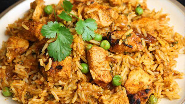 صور برياني دجاج بالصور , الوصفة الهندية لتحضير برياني الدجاج