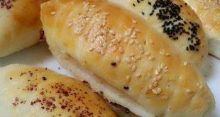 الخبز التركي بالصور , الخبز التركي المحشي بالجبن