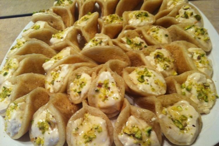صورة قطايف عصافيري منال العالم , كيفية تحضير اشهر حلويات رمضان