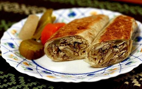 صور المطبخ العربي بالصور , طريقة تحضير الشاورما بالطريقة الشامية