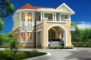 صوره صور تصاميم منازل , واجهات بيوت مساحات كبيرة
