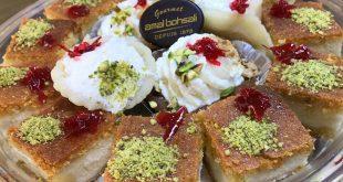 صورة معمول مد بالقشطة , اشهى الحلويات الشرقية
