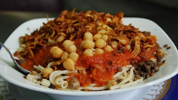 صورة طريقة طبخ الكشري , تحضير طبق الكشري المصري