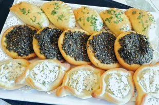 بالصور طريقة فطيرة الجبن , تحضير فطائر الجبنة والزعتر 8975 2 310x205