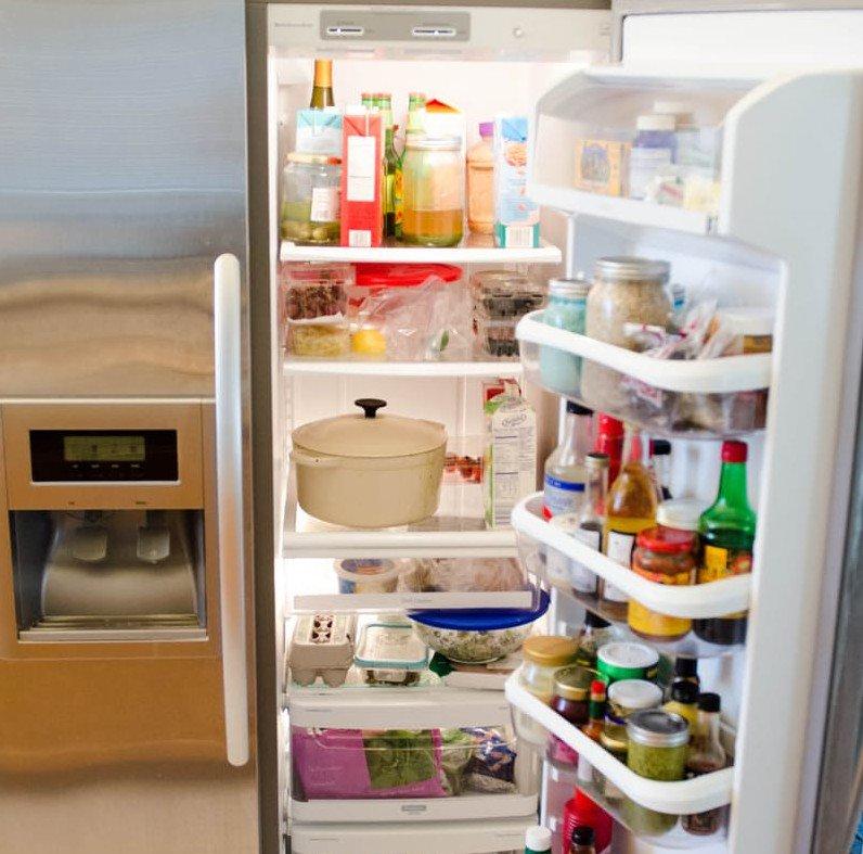 صورة طريقة تنظيف الثلاجة , افكار للتخلص من الروائح داخل الثلاجة