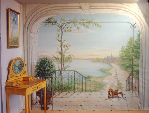 بالصور فن الرسم علي الجدران , رسومات للحائط جميلة 9577 1