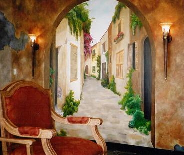 بالصور فن الرسم علي الجدران , رسومات للحائط جميلة 9577 5