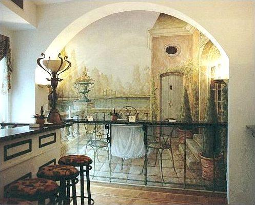 بالصور فن الرسم علي الجدران , رسومات للحائط جميلة 9577 6