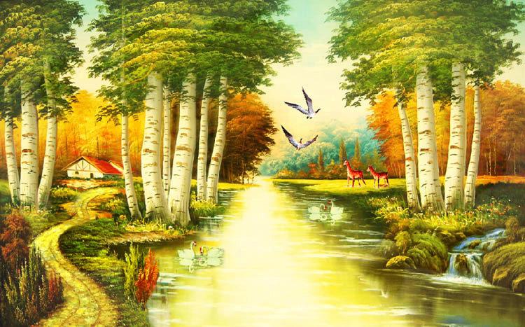 بالصور فن الرسم علي الجدران , رسومات للحائط جميلة 9577 7