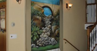 صوره فن الرسم علي الجدران , رسومات للحائط جميلة